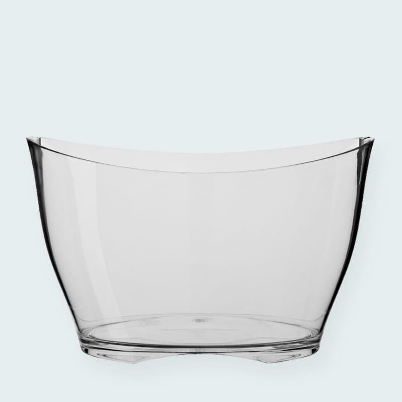 Tilbehør til din fest - Flaskebowle til isterninger og flasker